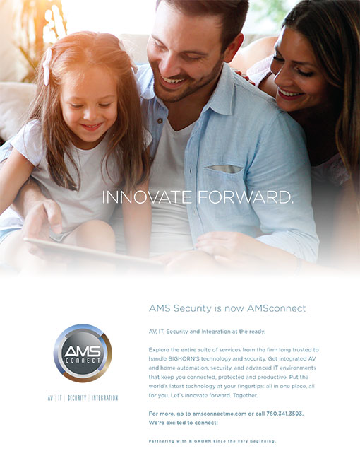 AMS Connect Ad
